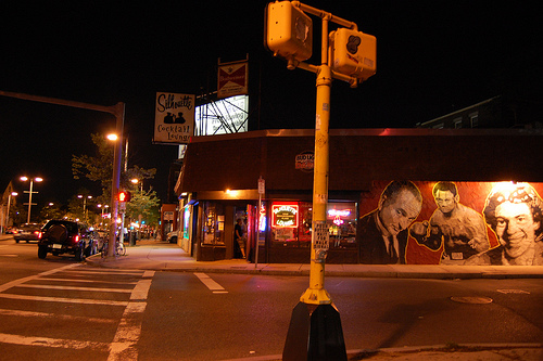 Best dive bar the silhouette under the influence of music - Dive bar definition ...